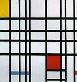 Composición en Rojo-Amarillo y Azul