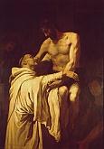 Cristo abrazando a San Bernardo