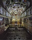 Frescos Techo de la Capilla Sixtina
