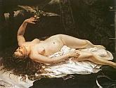 Mujer con Cotorra