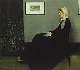 Composición en Gris y Negro: Retrato de la Madre del Artista