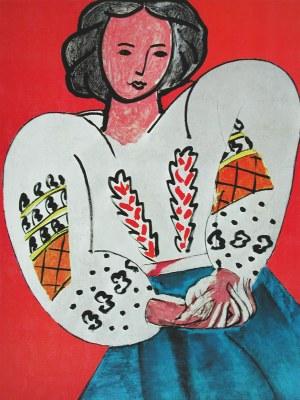 La Blusa Rumana - Matisse Henri Matisse