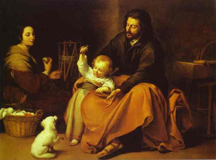 La Sagrada Familia del Pajarito